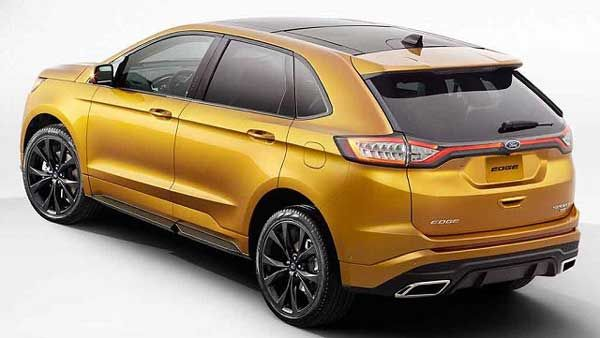 Whats New In  Ford Edge Sport Suv