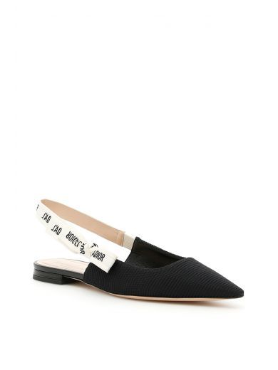 Best Store To Get Sale Online Flat Shoes smooth leather white Dior Outlet The Cheapest Sale Best Place Fashion Style Cheap Online Outlet Store Cheap Online Slv9iKD