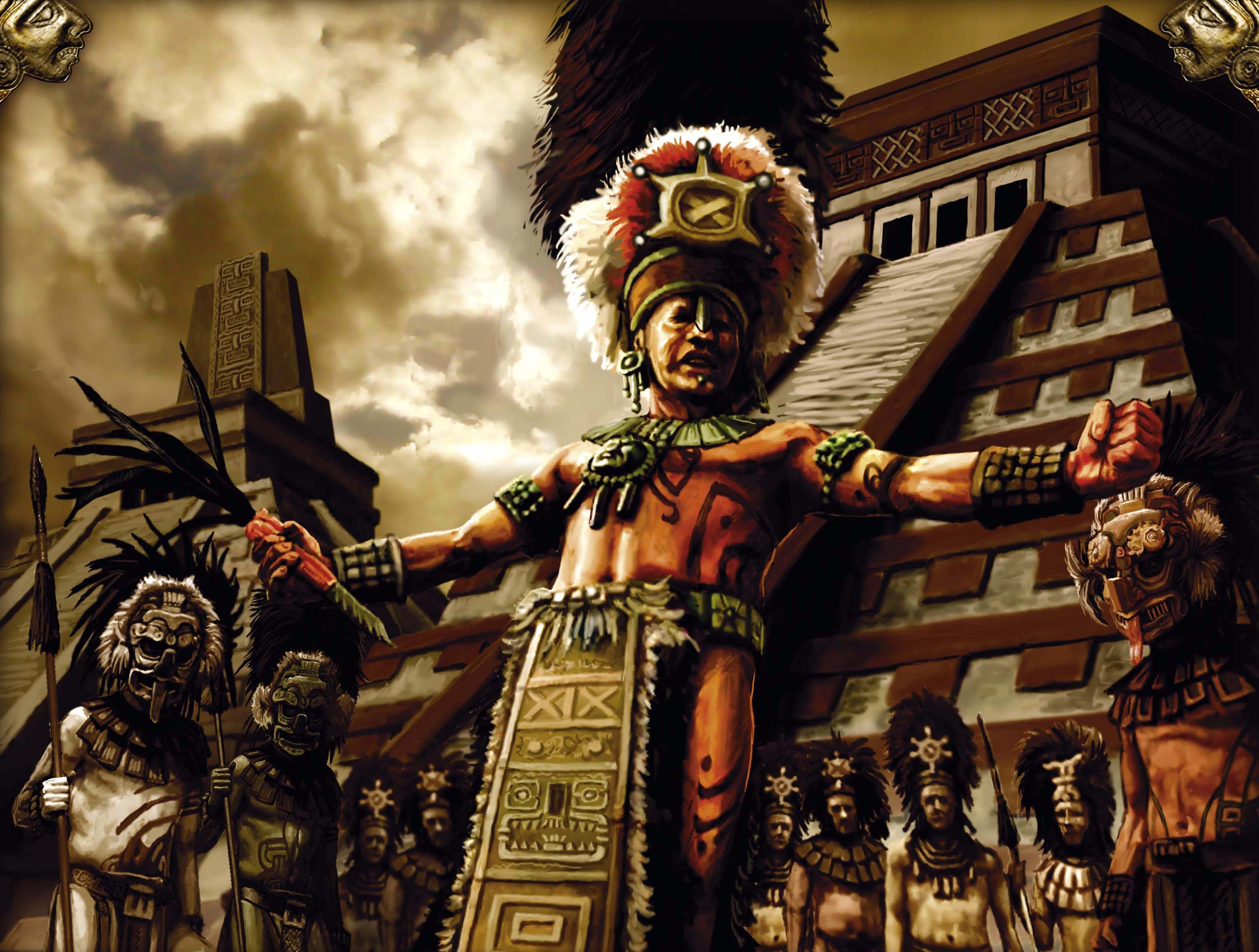 mayan sacrifice pit - HD3128×2367