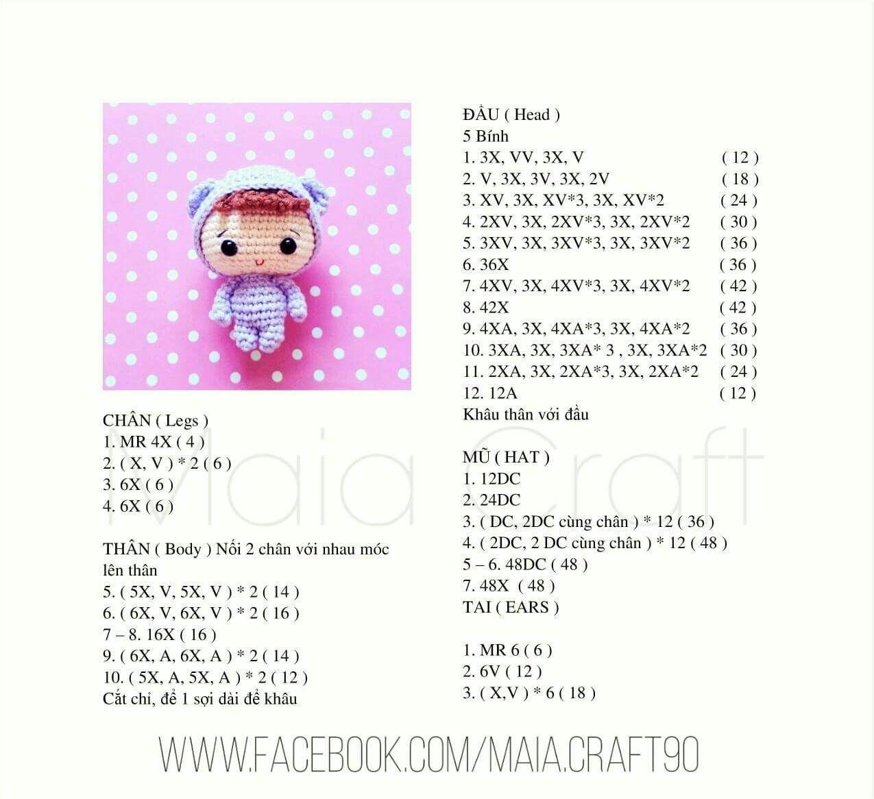 Pin de Alison Chen en Dolls   Pinterest   Patrones amigurumi ...