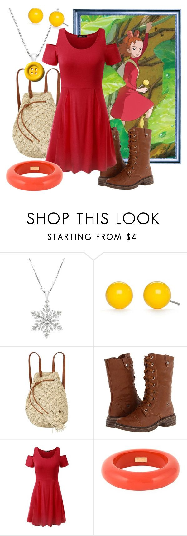 """Arrietty"" by marielw97 ❤ liked on Polyvore featuring Kim Rogers, Billabong, Wanted and Dsquared2"