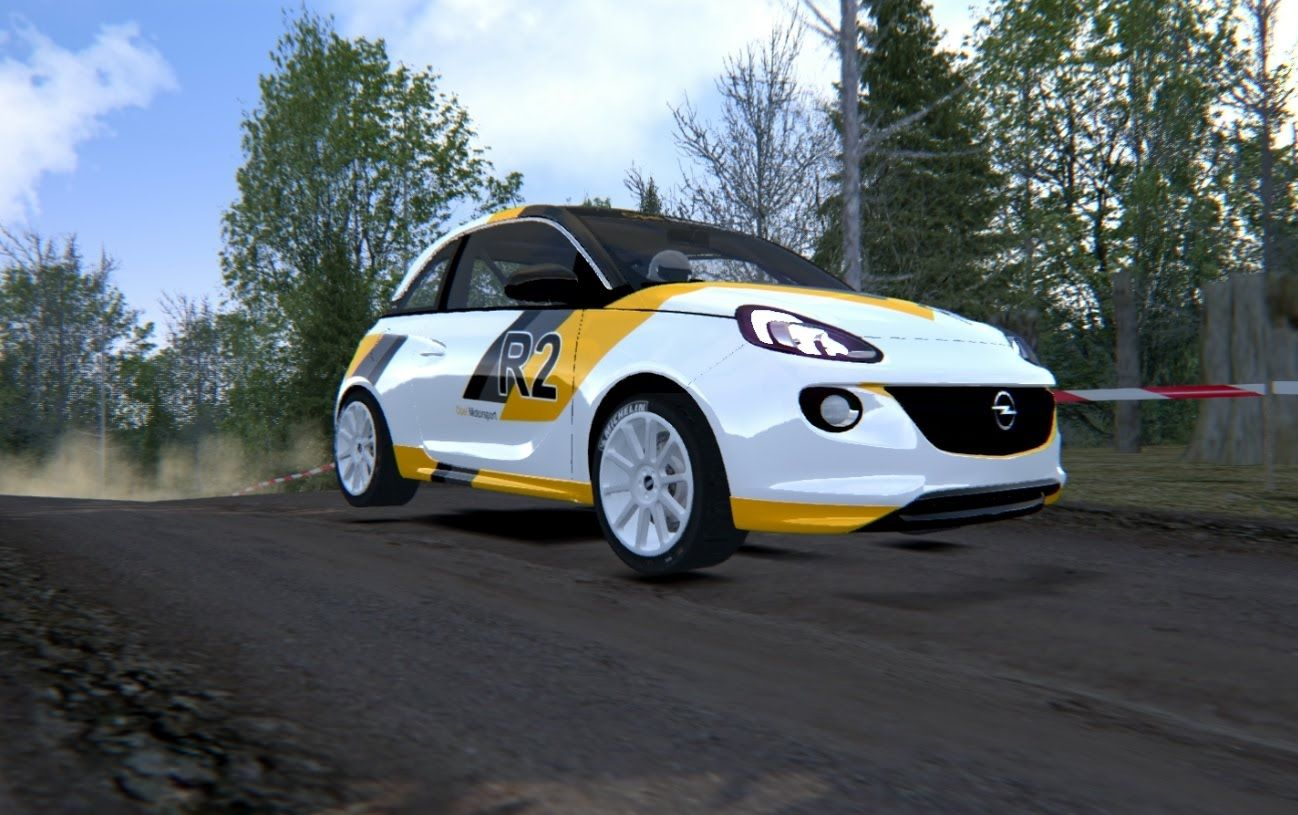 Assetto Corsa - Opel Adam Cup - Forest Rally | Projects to