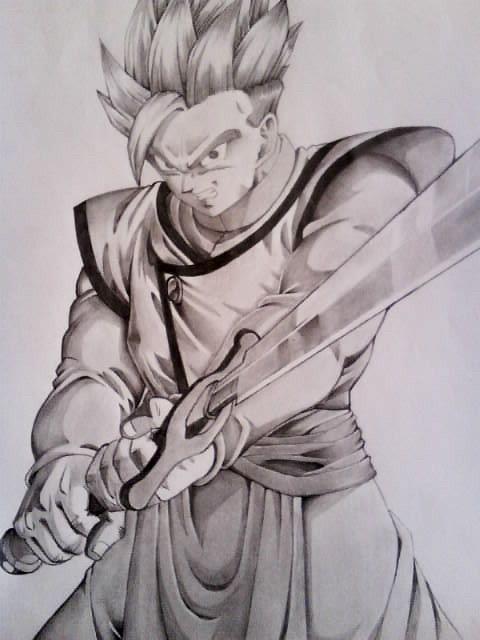 Gohan 6 Dragon Ball Tattoo Anime Dragon Ball Dragon Ball Art