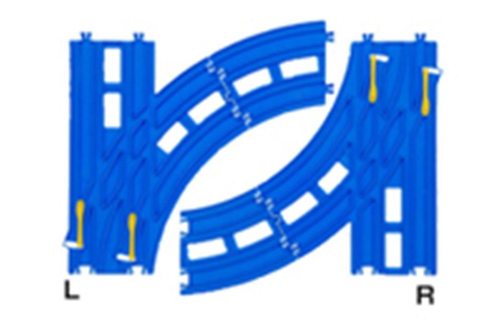 Tomy Thomas Trackmaster U-Turn track *** new