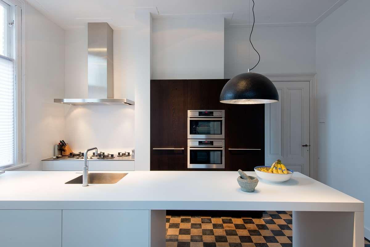 Moderne keuken in oud herenhuis in arnhem kitchen keuken