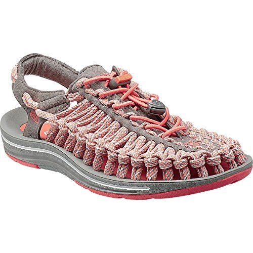 Keen Uneek Flat Sandal  Womens Fusion Coral 8 ** Find out more about the great product at the image link.