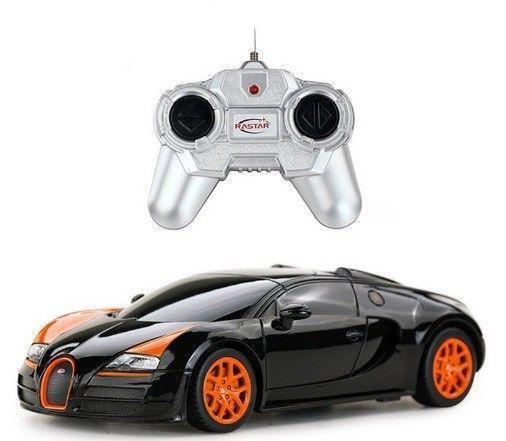 New Bugatti Veyron Remote Control Car 1:24 Scale Super Sport #Rastar
