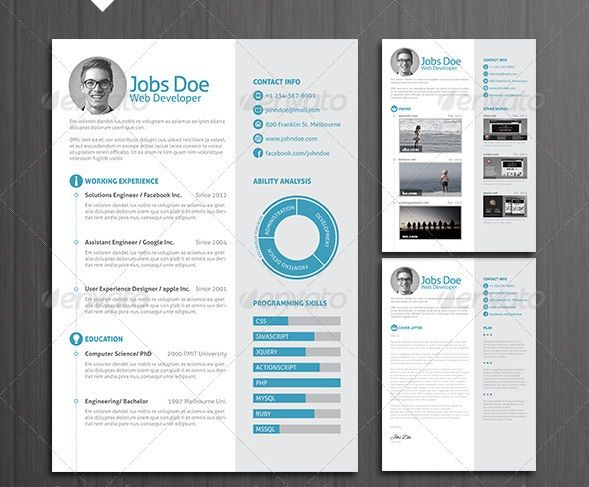 that stand out pinterest resume template free template and
