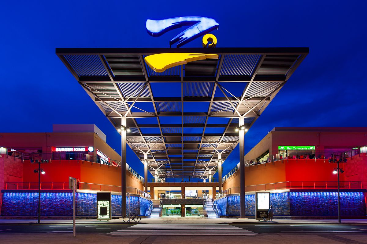La Zenia Boulevard Shopping Center In Alicante Costa Blanca