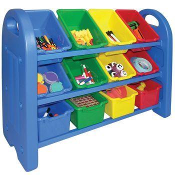 12 Bin Toy Organizer Toy Storage Organization Storage Bins Organization Toy Organization