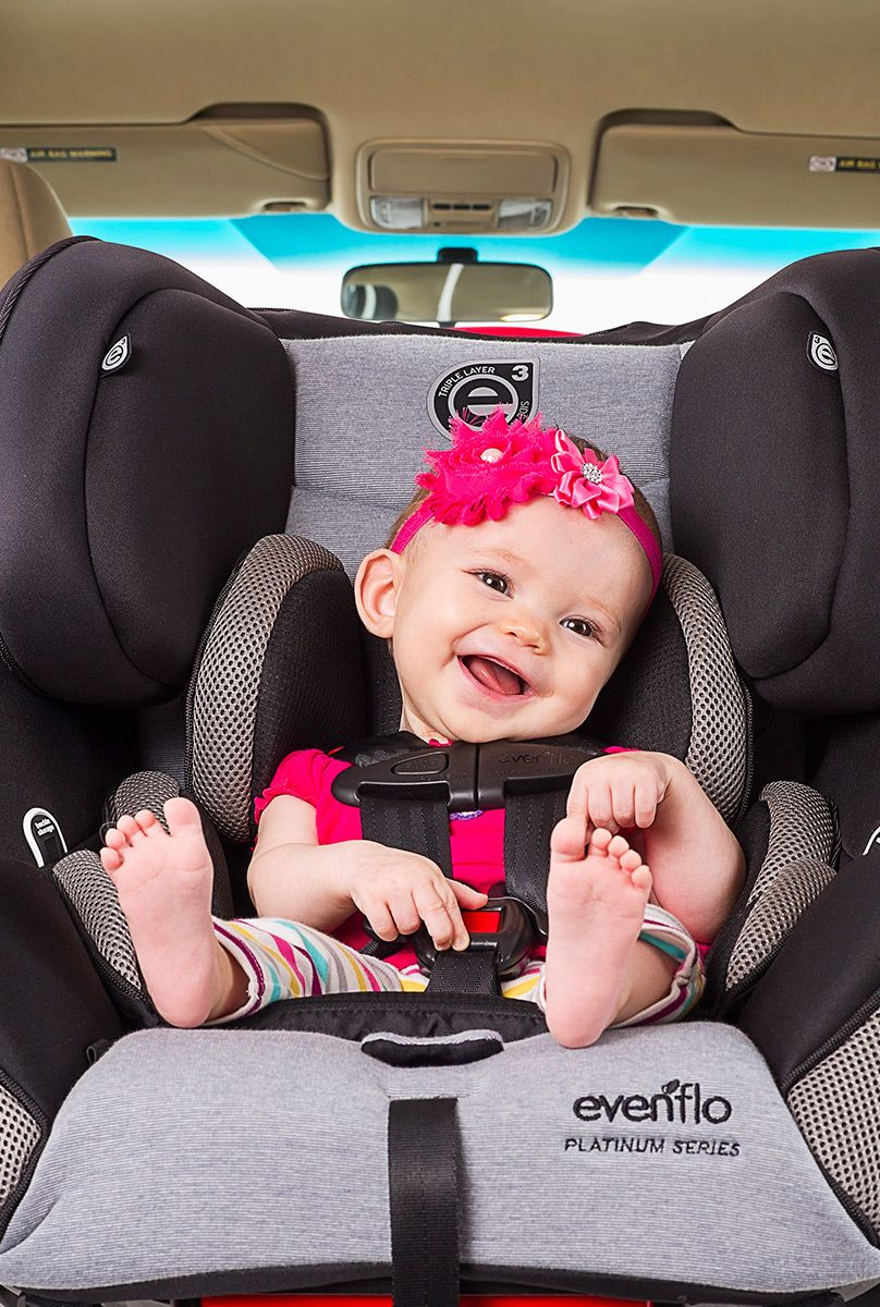 The platinum symphony lx all in one car seat with outlast temperature