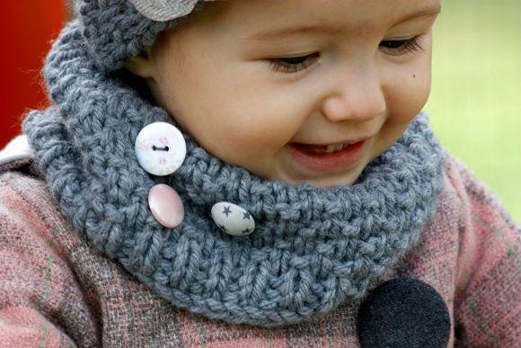 snood3 Bonnet Enfant, Tricot Enfant, Tricot Vêtement, Tuto Tricot, Snood  Enfant, a8820816c8d