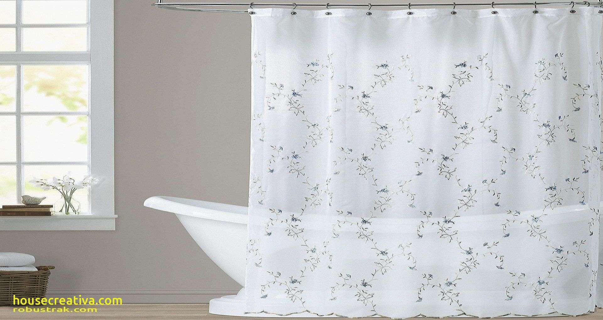 Awesome Clear Shower Curtain With Design Homedecoration