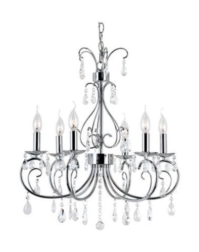 Patriot LightingR Elegant Home Jessica 6 Light 20
