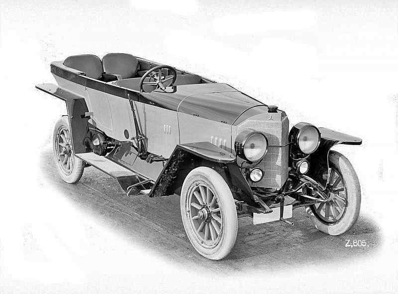 circa 1912 Mercedes