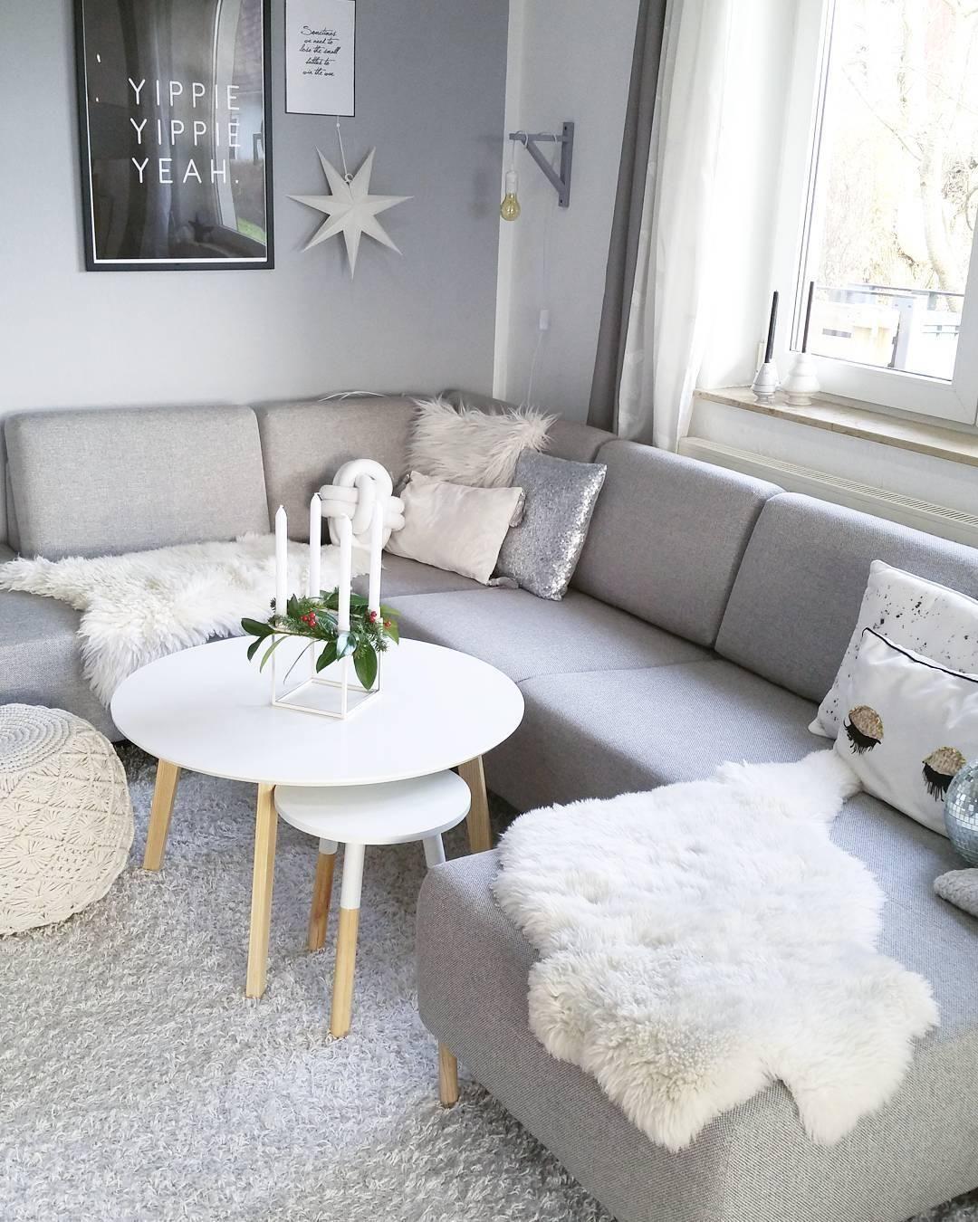 Rock SchÖner Wohnen Trendfarbe Wandfarbe Teppich Wohnzimmer