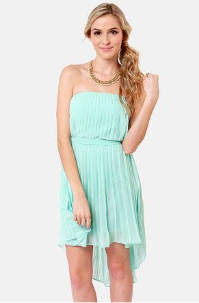 Strapless Summer Dresses for Juniors