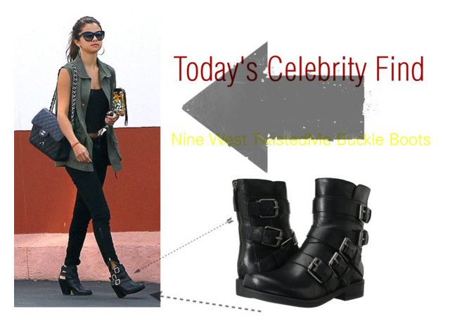 """7/17/14 Celebrity Find"" by arianazzunicorn ❤ liked on Polyvore featuring Nine West"