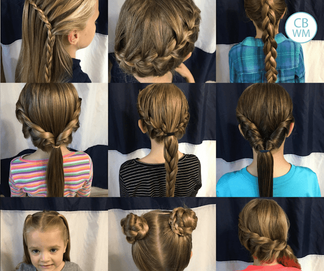 Chronicles Of A Babywise Mom Over 70 Beautiful And Easy Hairstyles For Girls In 2020 Girls Hairstyles Easy Easy Hairstyles Flower Girl Hairstyles