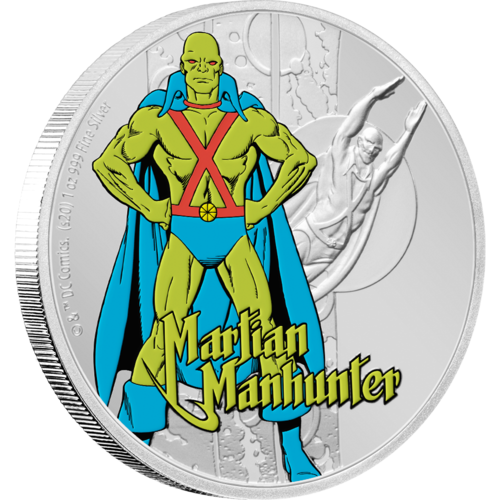 Another Piece Of Justice League 60th Anniversary History Released The Martian Justice League Coins