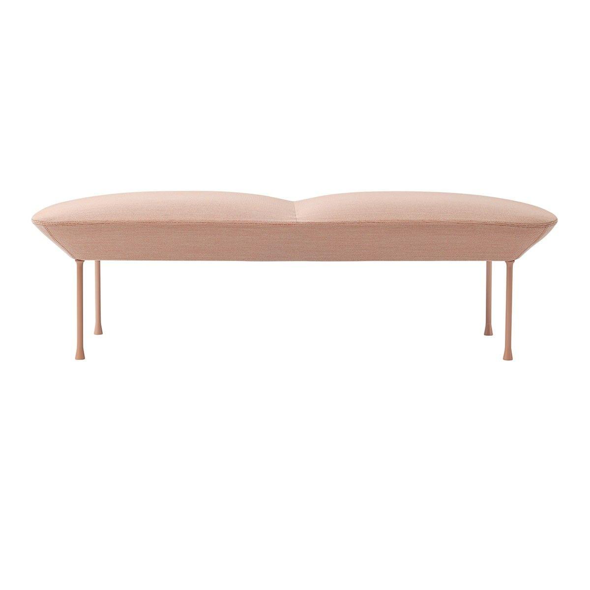banquette oslo rose steelcut trio 515 muuto canap. Black Bedroom Furniture Sets. Home Design Ideas