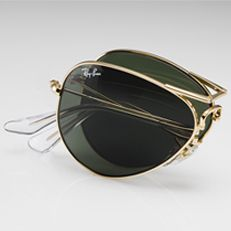 91283cbd34 Ray-Ban RB3025 Aviator Folding Sunglasses