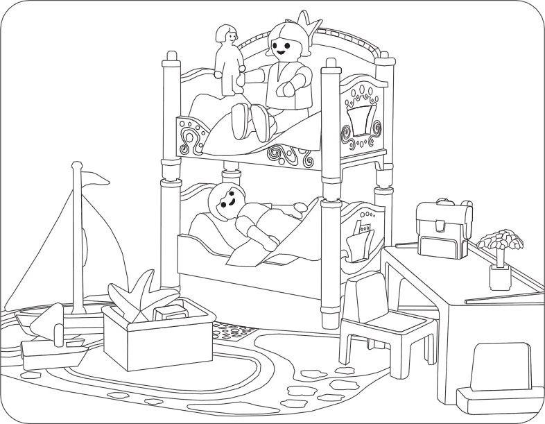 Ausmalbilder playmobil spielzeug basteln f r und mit - Playmobil samu ...