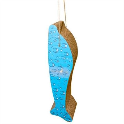 Scratch 'n Shapes Bubbles Dolphin, Hanging Scratcher - BD Luxe Dogs & Supplies