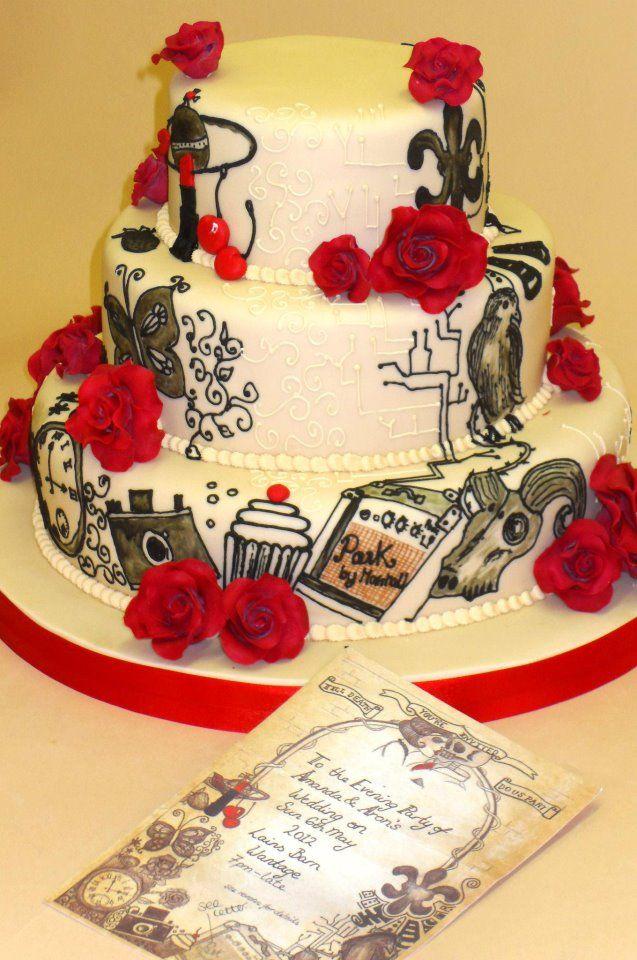 Contemporary Wedding Cakes | Cakes | Pinterest | Contemporary ...