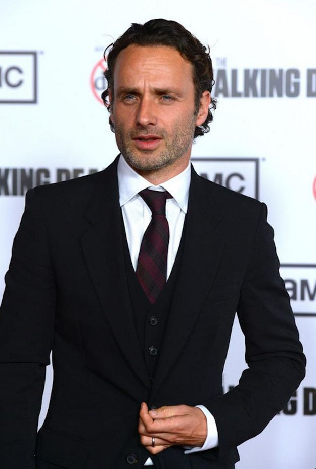 56 Situations Where Andrew Lincoln Looks Absolutel
