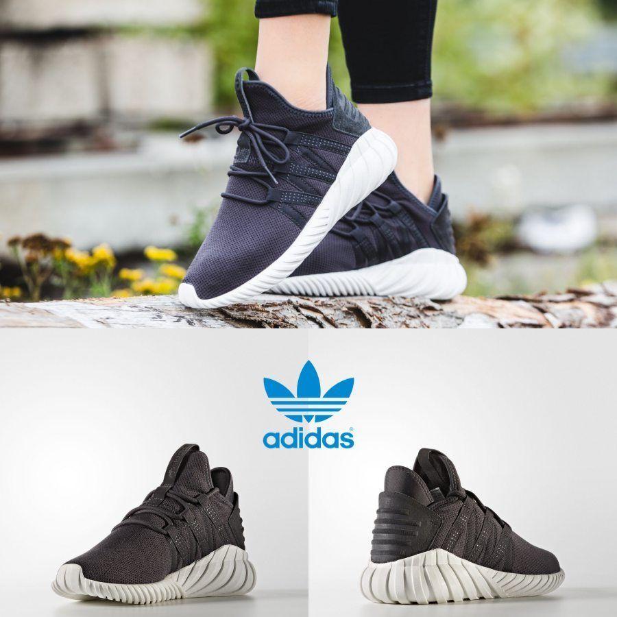 624f2d13df57c3 Adidas Original Tubular Dawn Running Sneakers Black Grey BZ0631 SZ 4-11  Limited
