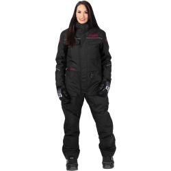 Photo of Fxr Excursion women 1-piece snowmobile station wagon black pink Xs S