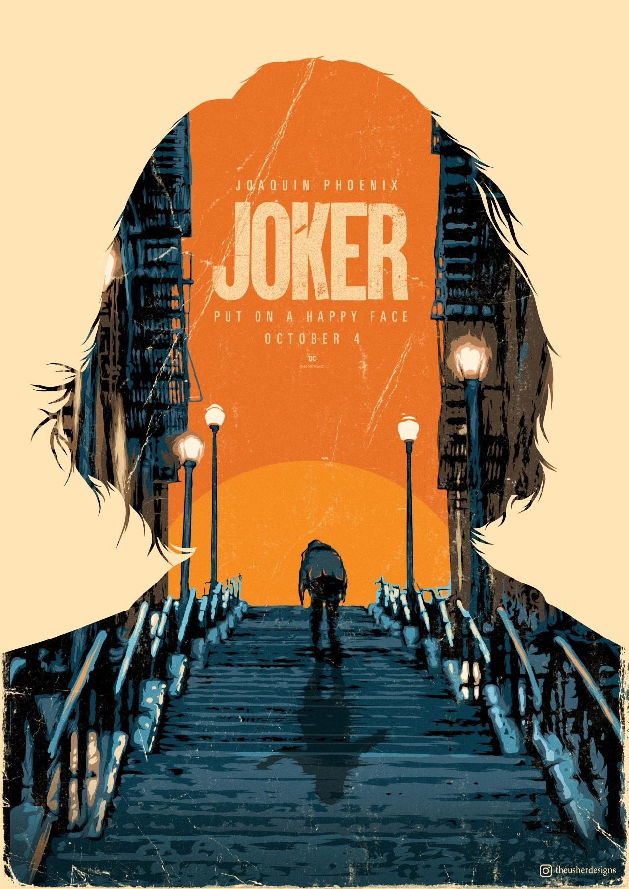 Joker 2019 1280 X 1810 Joker Poster Movie Posters Design Film Poster Design