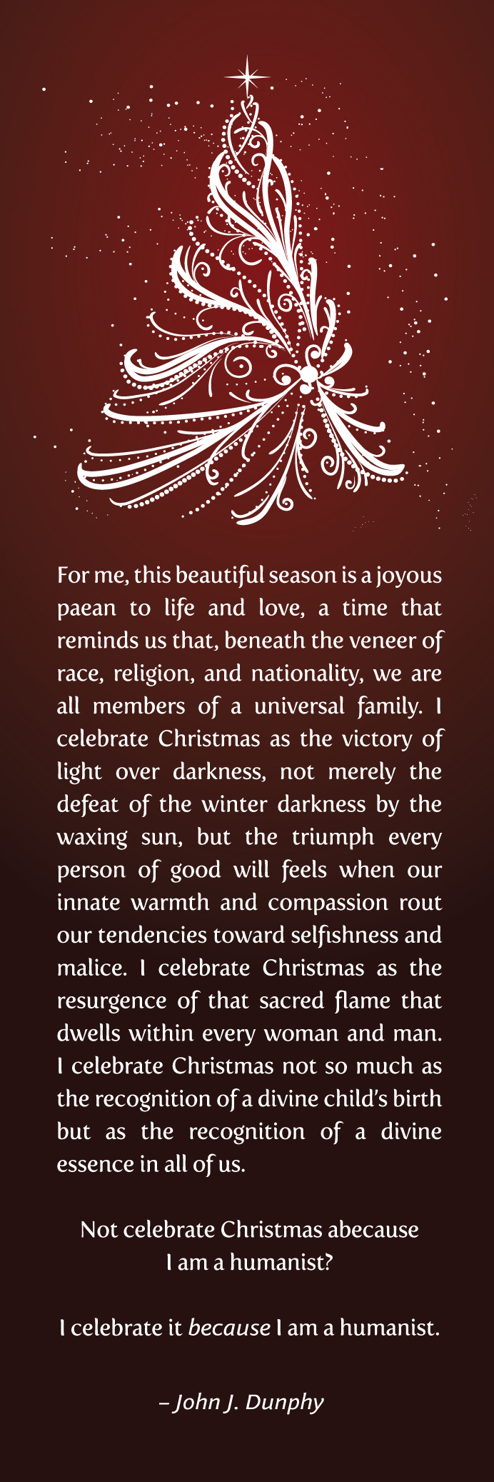Meaning of the number 22 in the - The Wonderful Sentiments Above Are From The Article Humanists Find Meaning In Christmas By John J