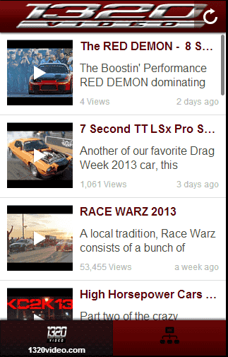 1320Video is a street and drag racing video and photo production company that covers mainly street car events, but also some other strange events that catch our attention!  http://Mobogenie.com