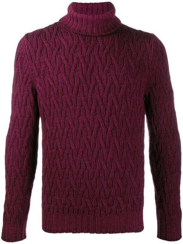 La Fileria For D'aniello slim-fit Chunky Knit Jumper - Farfetch