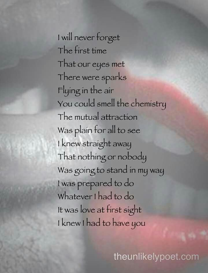 Love at first sight | Book quotes, Love poems, Never forget