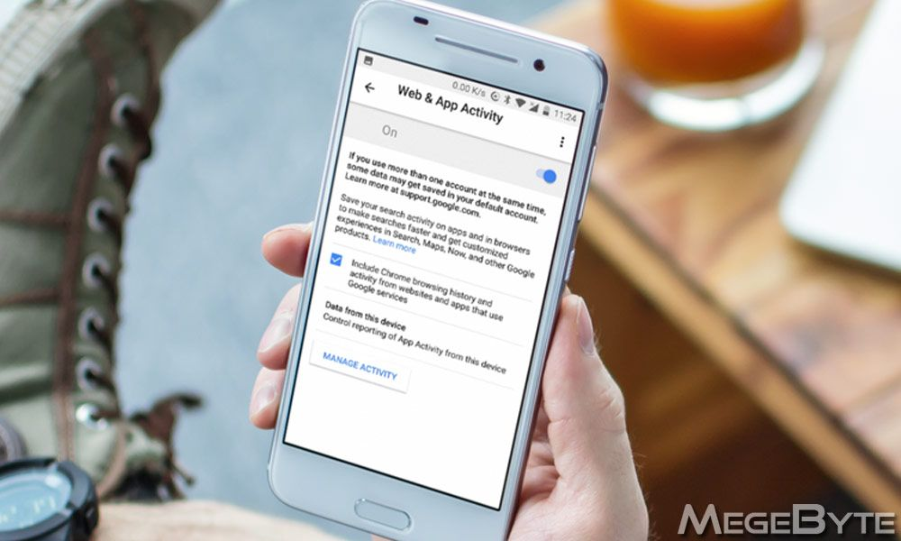 How To Enable or Disable Web and App Activity on Android