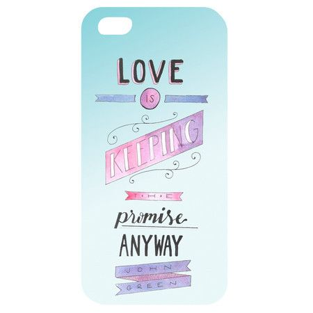 Case Love is keeping the promise (Iphone 4/4S/5/5S)