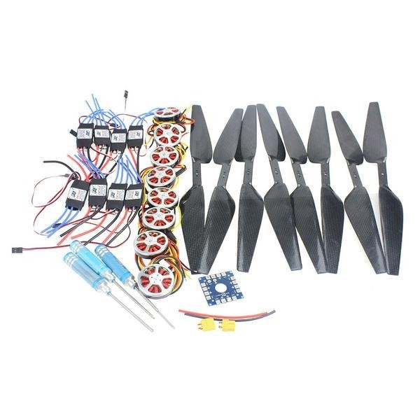 211.58$  Buy now - http://alikao.shopchina.info/1/go.php?t=32774349621 - JMT 8-Axis Foldable Rack RC Helicopter Kit KK Connection Board+350KV Brushless Disk Motor+16x5.0 Propeller+40A ESC  #buyininternet