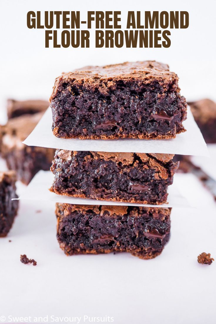 Gluten-Free Almond Flour Brownies – Sweet and Savoury Pursuits
