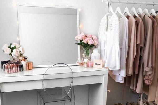 Kako da kreirate savršeni sto za šminkanje | Dressing room ...