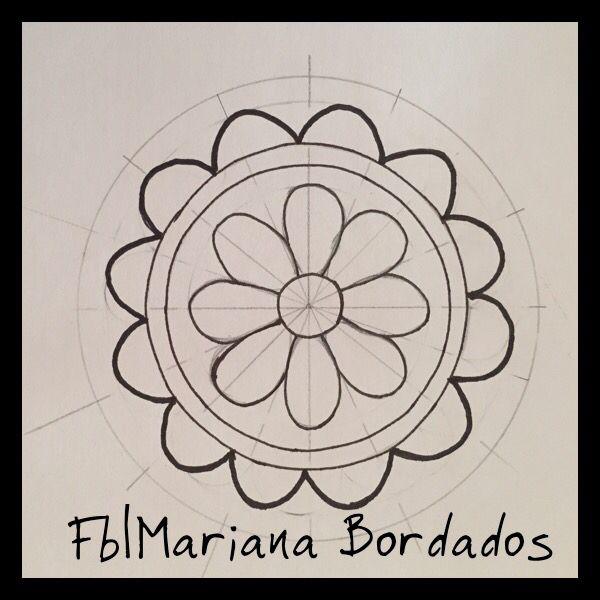 Fb Mariana Bordados   Bordado   Pinterest   Bordado, Bordados ...