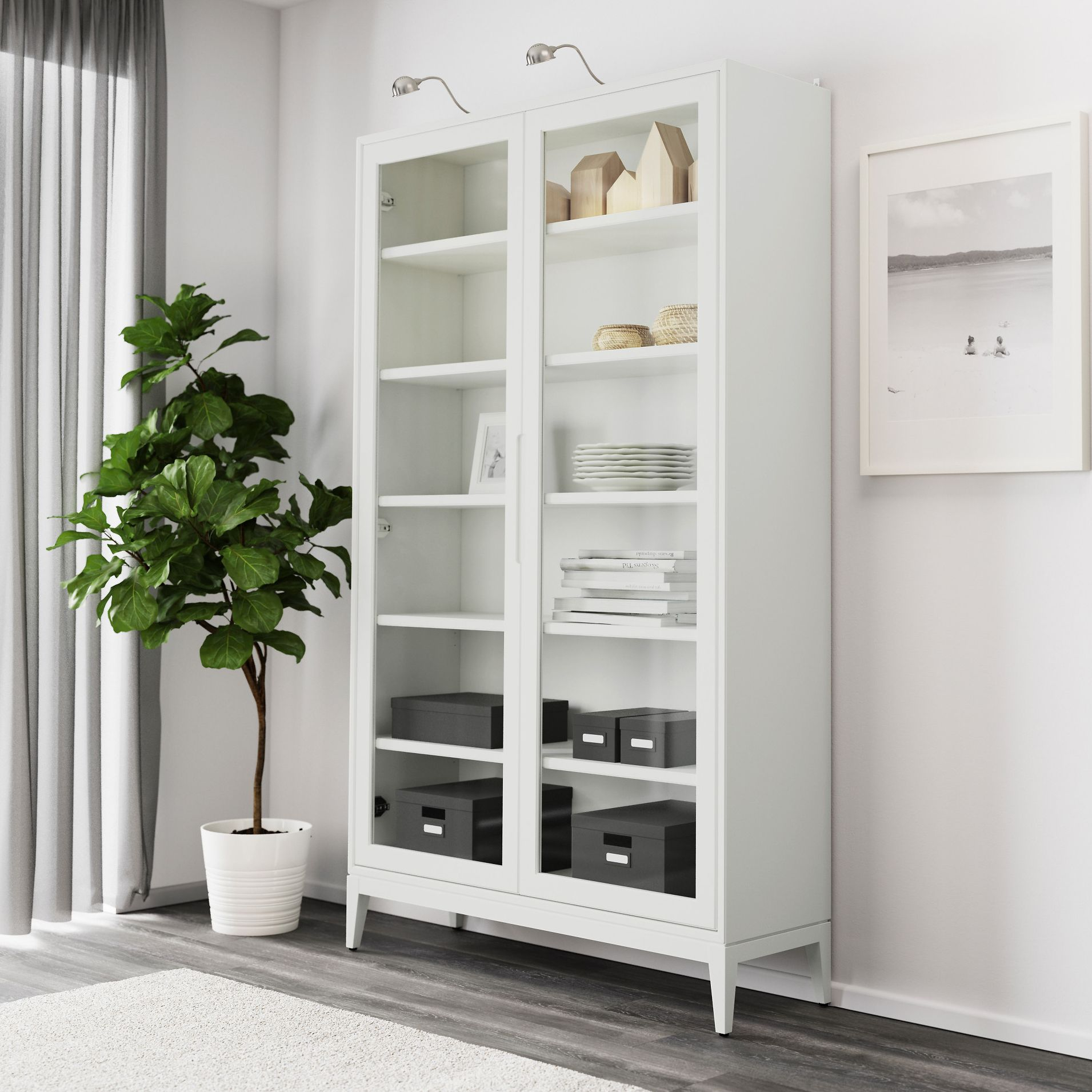 Eke Out More Space: Stylish Storage for Small Living Rooms | Living ...