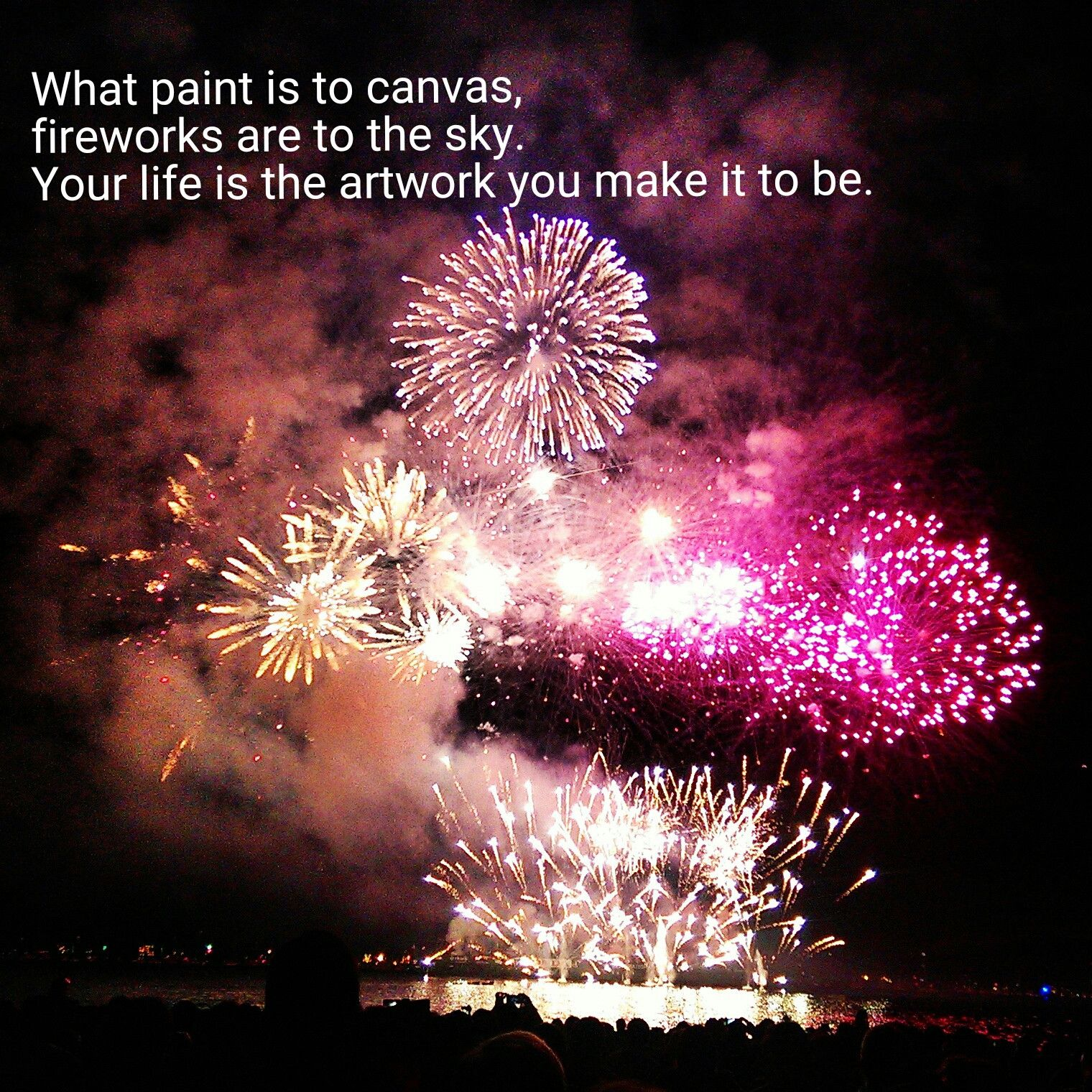 Fireworks inspire More at