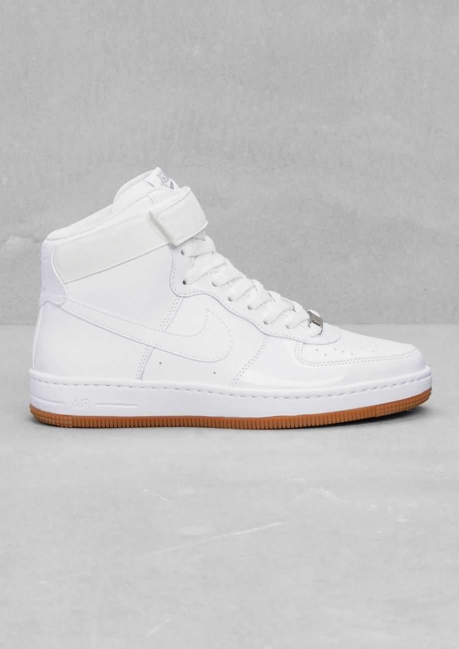 Couleurs variées 1e29b 6510b & Other Stories | Nike Air Force 1 Airness Mid. | SNEAKS ...