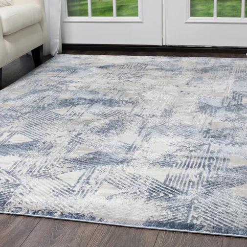 Kenmare Gray/Blue Area Rug Blue area rugs, Area rugs