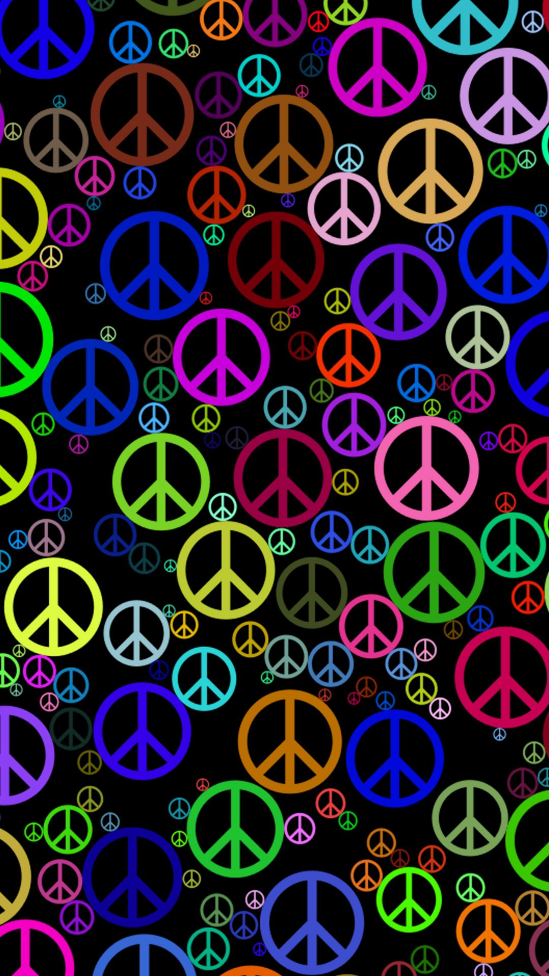 Peace Hd Wallpaper For Your Mobile Phone Cool Wallpapers For Phones Peace Sign Art Uhd Wallpaper