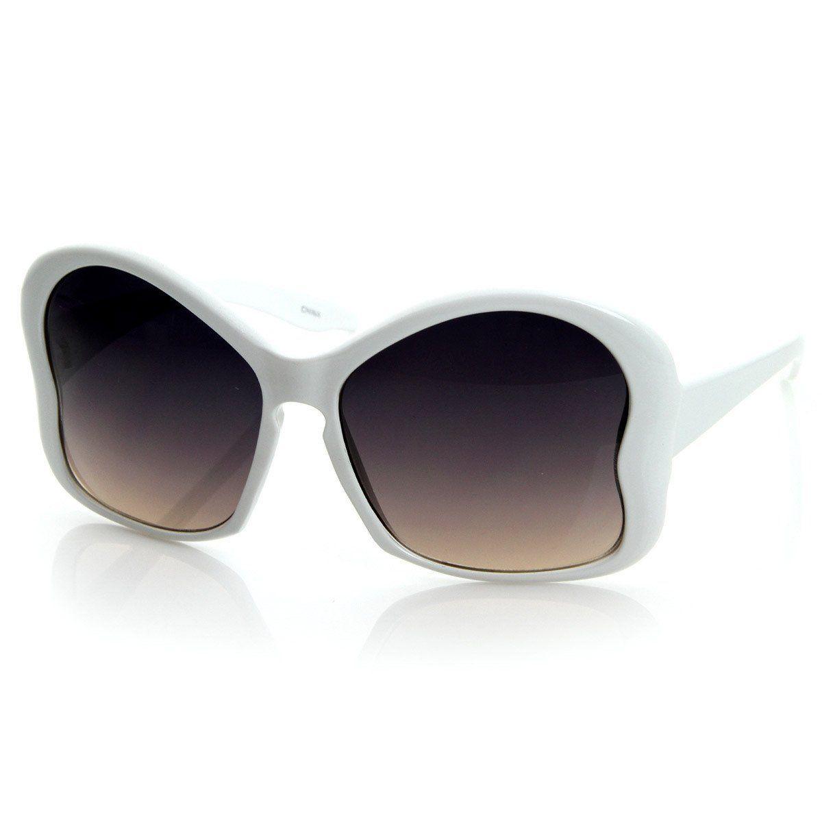 3e359030a48 Women s Fashion NYC Designer Oversize Butterfly Shape Sunglasses 8576