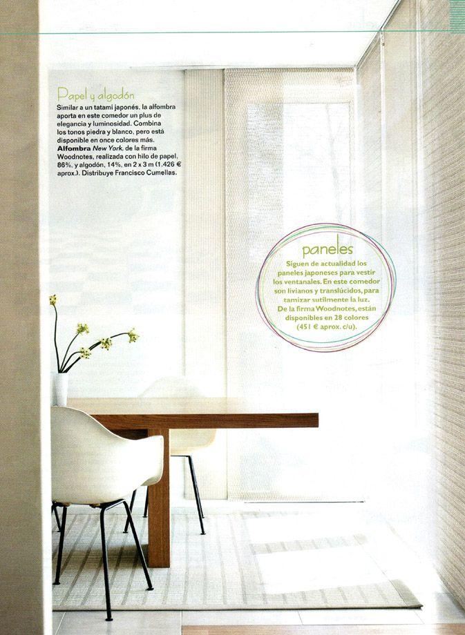 MI CASA   -   Paneles y alfombra Woodnotes, empresa distribuida exclusivamente por Francisco Cumellas.